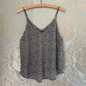 Forever 21 Daisy Patterned Slip Top Tank